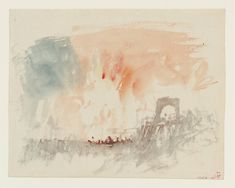Joseph Mallord William Turner, 'Vignette Study for 'Kosciusko', for Campbell's…