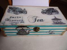 caja de té VINTAGE nº 2