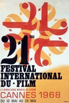 Official Festival de Cannes Poster, 1968