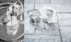 Wedding photography- St. Louis Silver wedding shoes. Wedding jewelry.