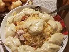 Δροσερή και θρεπτική σαλάτα του Καίσαρα!! συνταγή από Annita Rapata - Cookpad Dairy, Salad, Cheese, Food, Essen, Yemek, Salads, Meals