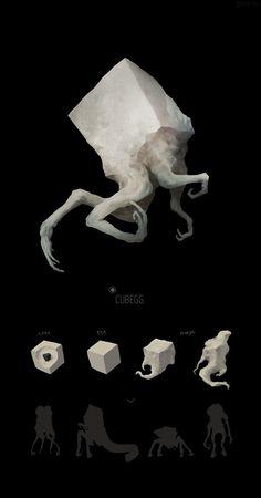 Ideas For Computer Wallpaper Design Concept Art Visual Development - Monster Art, Monster Concept Art, Alien Concept Art, Creature Concept Art, Fantasy Monster, Monster Design, Creature Design, Arte Horror, Horror Art