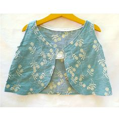 Embroidered summer top. Girls only!