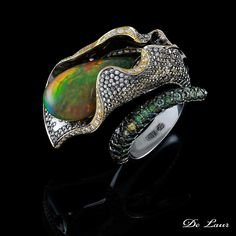 Opal Ring by De Laur