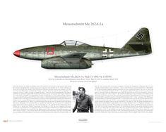 """Messerschmitt Me 262A-1a """"Schwalbe"""", III./EJG 2, Lechfeld 1945"""