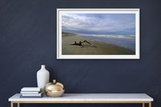 Driftwood is the first in my Seascape series.  Taken on the East Coast of the South Island of New Zealand, this iconic image has hills, sea, clouds, driftwood, sand and sandhills. Landscaping Images, South Island, East Coast, Driftwood, Beautiful Images, Clouds, Fine Art, Sea, Landscape
