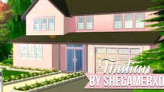 Sims 2 House - Thulian - No CC  This is a 3... - SheGamerxo