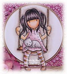 ♥ Nicolchens kleine Bastelwelt ♥: Stempel: Gorjuss Girls