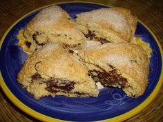 Hungry Vegan: Coco-Hazelnut Marble Cake Scones