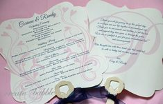 With wedding season fast approaching, I wanted to share another one of my DIYs from my daughter's wedding. In case you missed last week's post, you can see the butterfly place cards here. Wedding Ceremony Program Fans These are the DIY wedding programs that I made for my daughter's wedding. Since the wedding ceremony was …