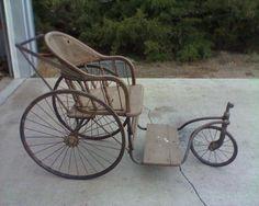 $80.00 - Antique Wheelchair Buggy.