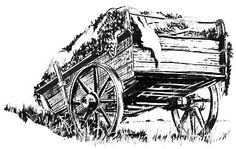 "Hide cart to illustrate my book, ""Buffalo and Indians"" and the slaughter of 60 million animals."