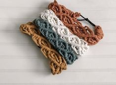 Macrame Headband, Boho Headband, Macrame Jewelry, Macrame Projects, Crochet Projects, Macrame Patterns, Crochet Patterns, Crochet Ideas, Color Secundario