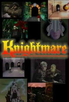 Knightmare - a very clever adventure gameshow for children which I absolutely loved as an adult - involved teams of four children – one taking the role of the sightless dungeoneer, the remaining three acting as their guide – traversing a creepy medieval digital dungeon...