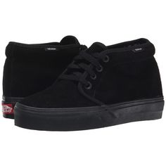5200f6713dc Vans Chukka Boot Core Classics (Black Black (Suede)) Shoes ( 60
