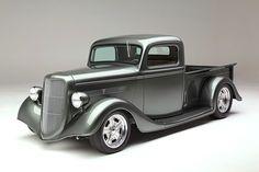Tina Dias' 1935 Ford truck.