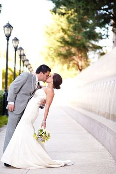 Piedmont Park Wedding by Light Love Laughter Photography | Style Me Pretty