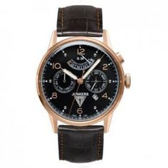 Junkers Watch Junkers Watch available to buy online from with free UK delivery. Gents Watches, Sport Watches, Cool Watches, Zeppelin Watch, Skeleton Watches, Swiss Army Watches, Automatic Watches For Men, Bracelet Cuir, Beautiful Watches