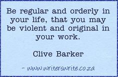 Gallery For > Clive Barker Quotes