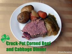 Crock-Pot Corned Beef & Cabbage Dinner