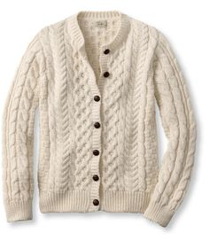L.L.Bean 1912 Heritage Fisherman's Sweater. Hand crafted in Ireland $169.00.