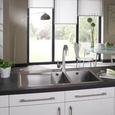 Astracast Vantage 1 5 Bowl Stainless Steel Kitchen Sink