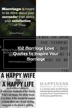 102 marriage and love quotes to inspire your marriage Fresh Quotes, Love Quotes, Inspirational Quotes, Happy Wife Quotes, Happy Life, Meant To Be, Marriage, Inspire, Qoutes Of Love