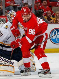 Tomas Holmstrom (Red Wings de Détroit)