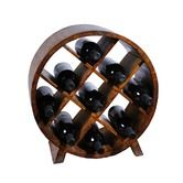 Found it at Wayfair - Sectional 9 Bottle Tabletop Wine Rack