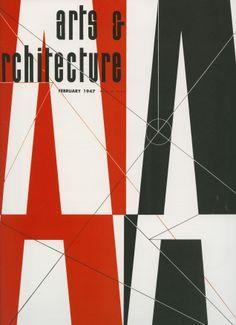 Arts & Architecture Magazine Cover 1947