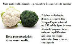 Cuidados Com a Saúde : Suco para prevenir envelhecimento, câncer e da ane...