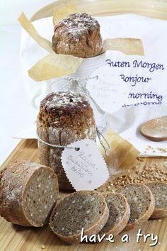 Roggen-Buchweizen-Brötli (vegan) #ichbacksmir #frühstück #breakfast