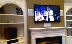 Surround Sound enhances your home viewing experience! http://wemounttvs.com