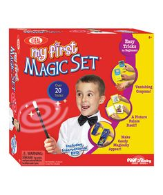 Take a look at this My First Magic Set by Poof-Slinky on #zulily today! $14 !!