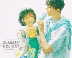 Best Anime Couples, Anime Love Couple, Anime Couples Manga, C Anime, Anime Art, Couple Illustration, Illustration Art, Character Drawing, Character Design