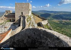 """The road which runs round the highest area of the mountains and in whose rocky crest nestles the beautiful town of Marvão, immediately reminds us of the idea of the """"invincible"""" town which captivated its first inhabitants. The way its walls and towers form part of the rocky slopes make Marvão a homogeneous whole, with man-made construction blending with its topography.  #Marvao #Alentejo #Portugal"""