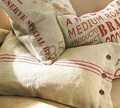 Oh, how I adore these pillows!