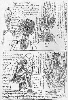 Feverish and Insomniac José Luis Cuevas (Mexican, born 1934) Date: 1978 Medium: Ink on paper Dimensions: H. 15-1/2, W. 12 inches (39.4 x 30....
