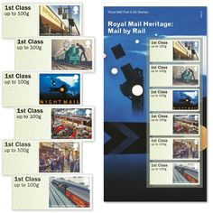 Royal Mail Heritage: Mail by Rail Post & Go Stamp Set at Royal Mail Shop Royal Mail, Stamping Up, Postage Stamps, Shopping, Paths, Iron, Stamps