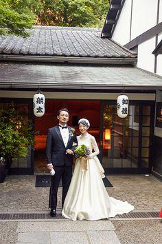 アーネラクロージング in 2019 Wedding Images, Wedding Tips, Dream Wedding, Civil Ceremony, Wedding Ceremony, Japanese Princess, Wedding Picture Poses, Japanese Wedding, Bridal Collection