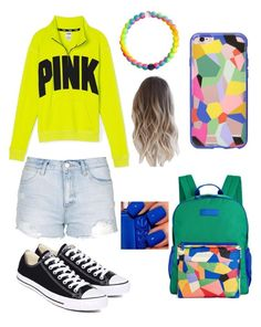 """"""""""" by nikkisfashion273 on Polyvore featuring Vera Bradley, Victoria's Secret PINK, Incase, Topshop and Converse"""