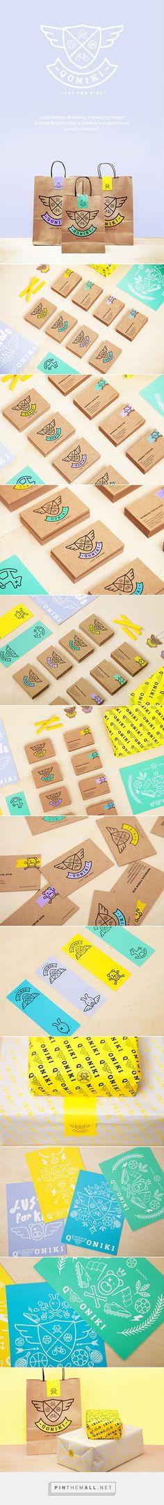 QONIKI Branding & Packaging Designed by Ipek Eris