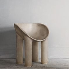 Roly Poly Dining Chair by Faye Toogood via Studio Oliver Gustav - Architektur