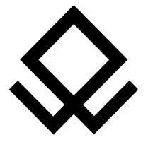 vikingo simbolos La cruz de Odín.- Cruz usada por los vikingos. Simboliza al Dios Odin, y a la religión odinista. Representa también un símbolo sagrado de nuestra raza.