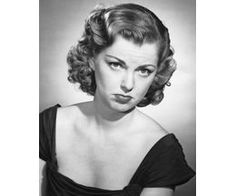 Box Canvas Print (other products available) - Woman pouting - Image supplied by Fine Art Storehouse - inch Box Canvas Print made in the UK 1950s Fashion Women, 1950s Women, 40s Fashion, 50s Hairstyles, Vintage Hairstyles, Retro Updo, Thing 1, Before Us, Photos Of Women