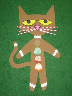 Oh so CUTE! Pete the Cat as the Gingerbread Man! <3 <3