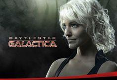 Numéro six (Tricia Helfer), aka: Caprica Six, Natalie Faust, Gina Inviere (voir les épingles qui leur sont consacrées), Shelley Godfrey, Lida - Cylon - Agente infiltrée