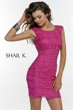 Homecoming Dresses<BR>Cocktail Party Dresses by SHAIL K.<BR>3433<BR>Bright and Brilliant!