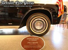 In honor of the 50th anniversary of the assassination of President John F. Kennedy, The Henry Ford Museum in Dearborn will feature the 1961 Lincoln Continental convertible that the president was riding in when he was assassinated. On Friday, 11-22-2013, admission to the Henry Ford Museum will be free.