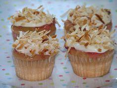 Baking up joy!: Gauva Coconut cupcakes